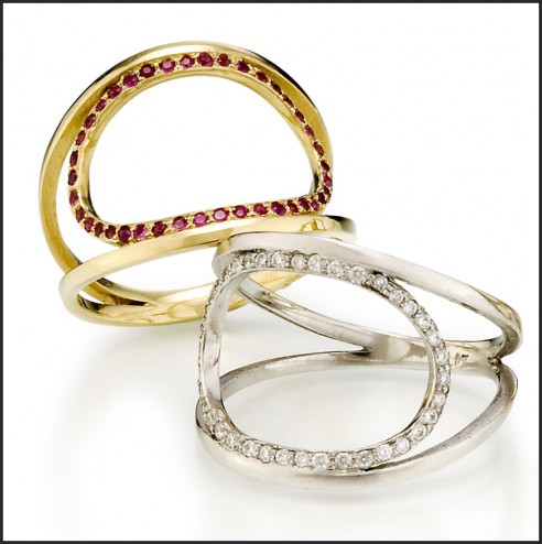 O rings ruby diamond