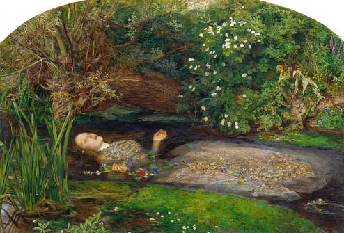 John Everett Millais - Ophelia - 1851